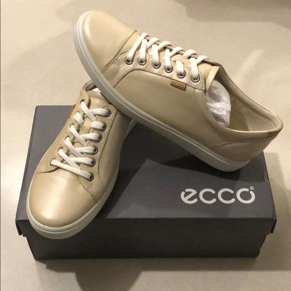 Ecco Soft 7 Vanilla Metallic Leather